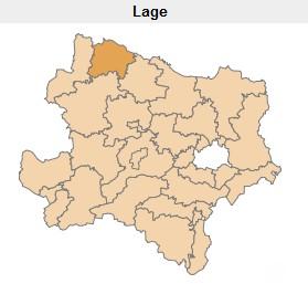 Grafik Karte Niederösterreich